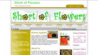 Short of Flowers – The Florist's Friend in Edinburgh